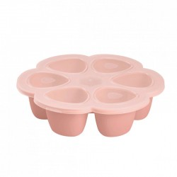 Multiportions Silicone 6x90ml Béaba - Rose 912493, 3384349125950