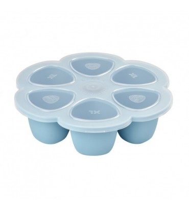 copy of Multiportions Silicone 6x150ml Béaba - Bleu 912456