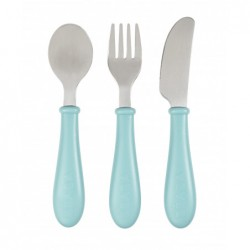 Set Couverts Inox Béaba - Airy Green 913461, 3384349134617