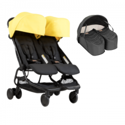 Poussette Double Mountain Buggy Nano Duo - Cyber + Cocoon