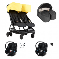 Poussette Double Mountain Buggy Nano Duo - Cyber+ Cocoon