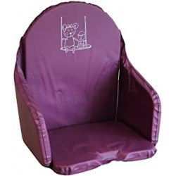 Coussin de Chaise Looping - Cassis BCCHCAS, 3666168019055