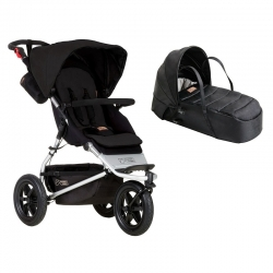 Poussette Mountain Buggy Urban Jungle + Nacelle Cocoon