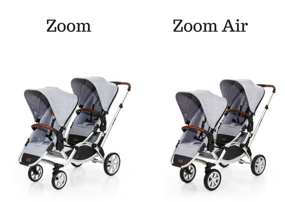 zoom vs zoom air abc design univers poussette